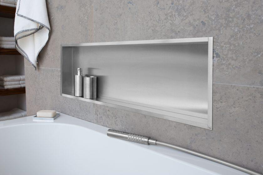 Easy drain box niche murale series for Niche murale salle de bain