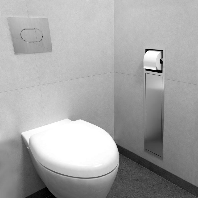 easy drain encastrement wc porte papier toilette. Black Bedroom Furniture Sets. Home Design Ideas