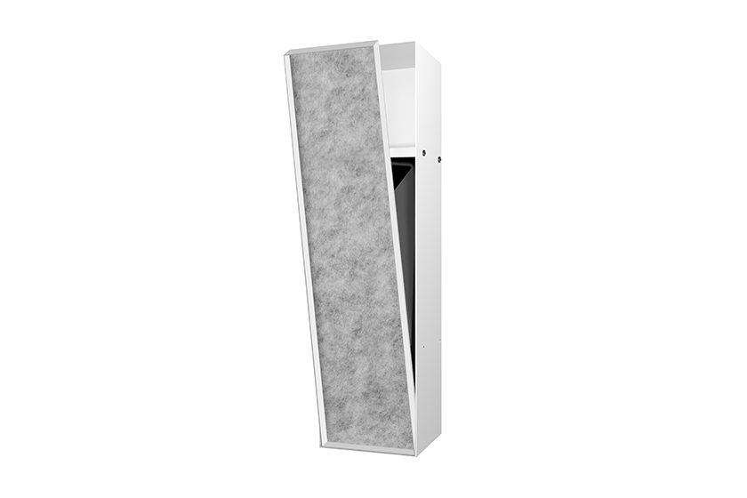 encastrement wc poubelle et niche murale blanc easy drain. Black Bedroom Furniture Sets. Home Design Ideas