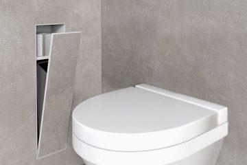 accessoires salle de bain container roll conomisant l. Black Bedroom Furniture Sets. Home Design Ideas
