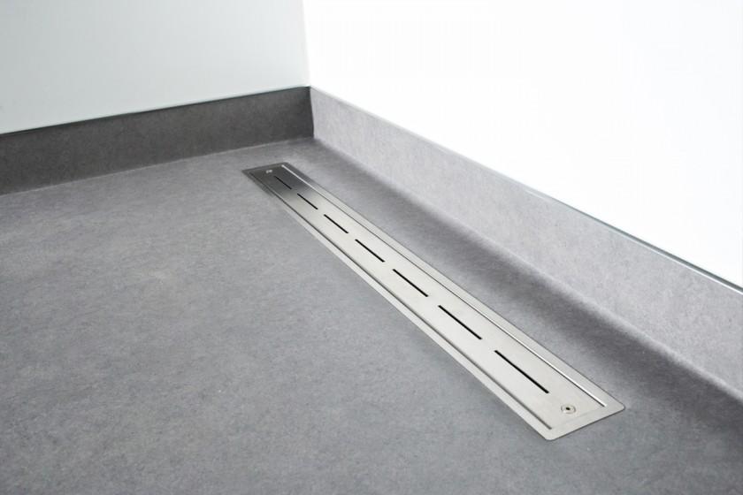 easy drain vinyl duschrinne speziell f r vinylb den. Black Bedroom Furniture Sets. Home Design Ideas