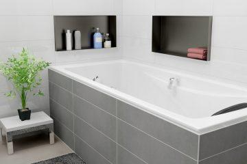 wandnischen | container box | raumsparmöglichkeiten, Badezimmer