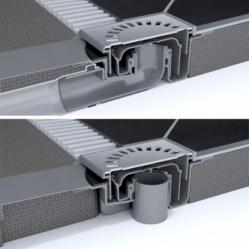 aqua brilliant duschboard easy drain. Black Bedroom Furniture Sets. Home Design Ideas