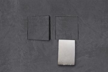 Wandnische/Papierhalter