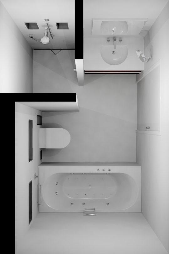 Badezimmer ideen für kleine bäder | Easy Drain