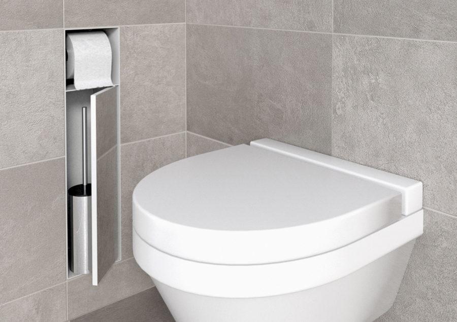 Toilettenbürstenhalter Wand