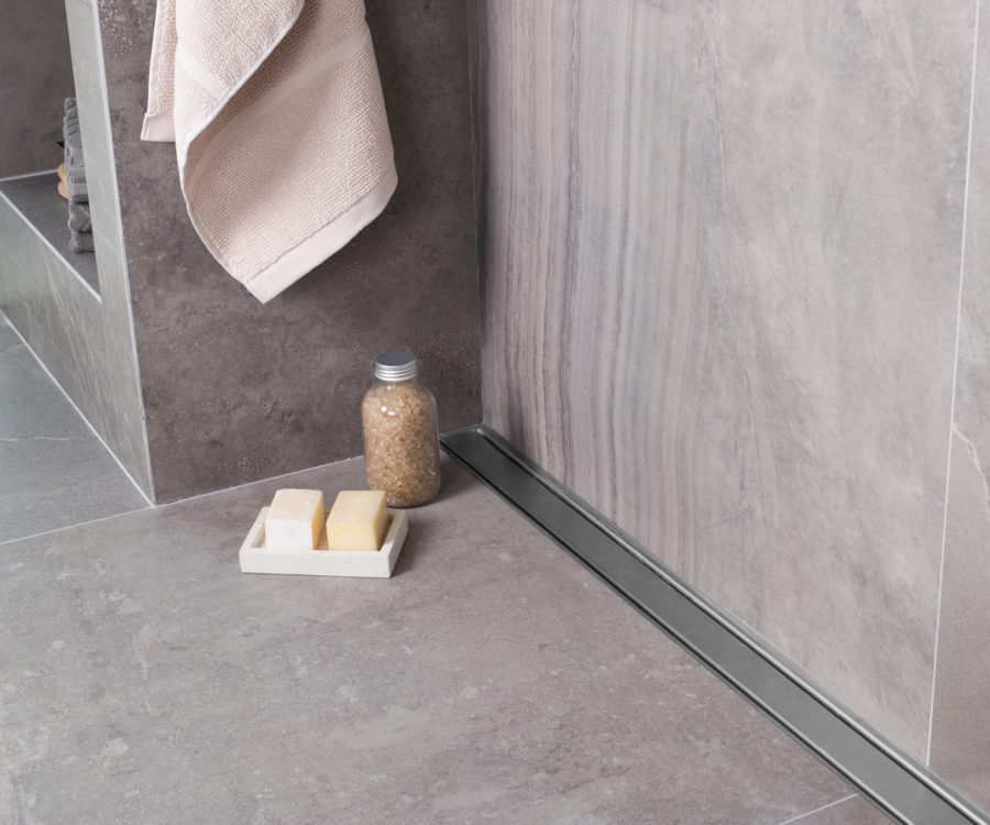 Duschrinne Wand Badezimmer