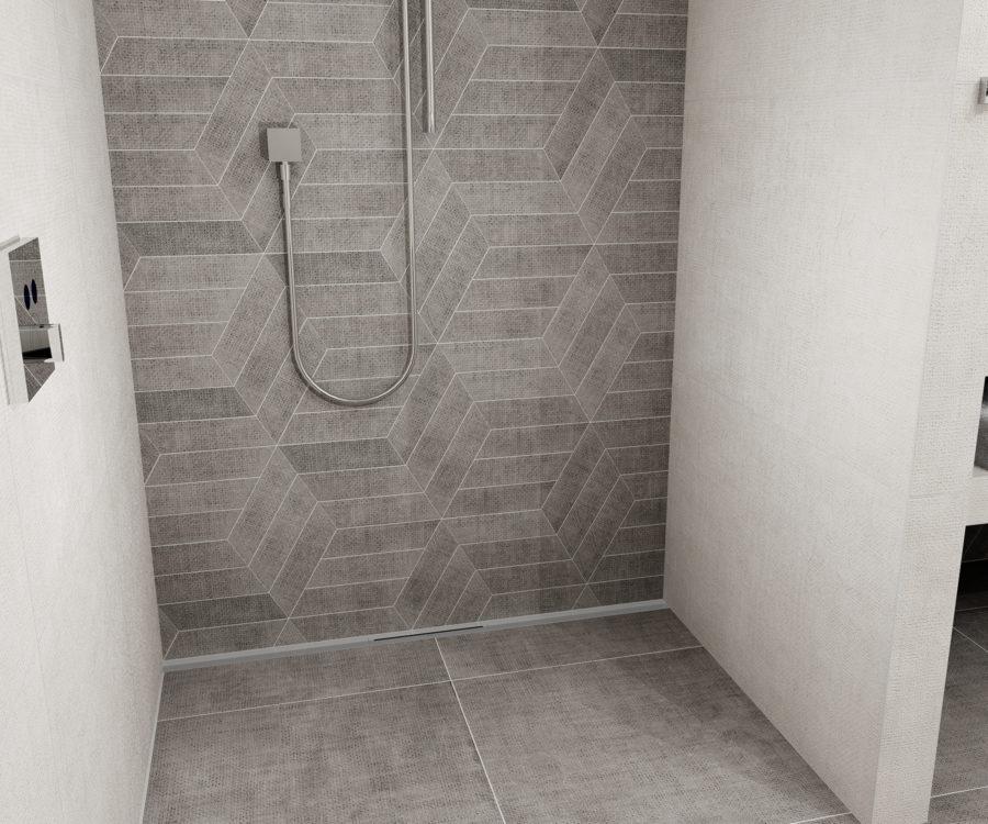 Duschrinne bodengleiche Dusche