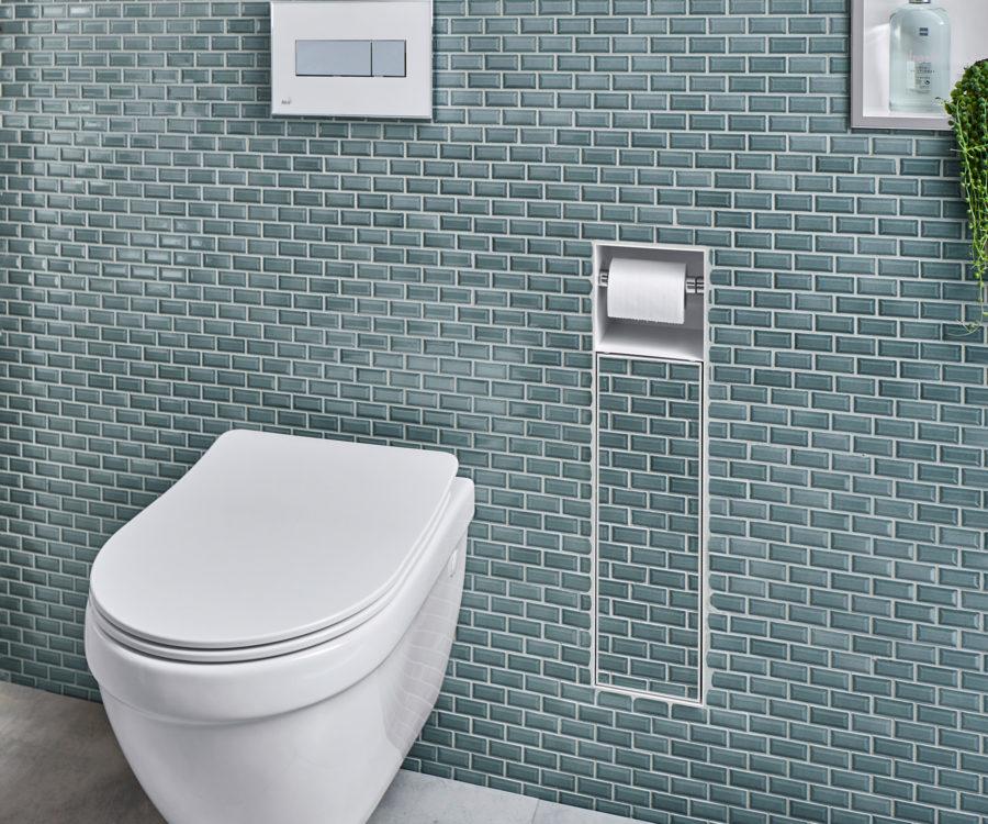 Toilettenbürstenhalter unsichtbar