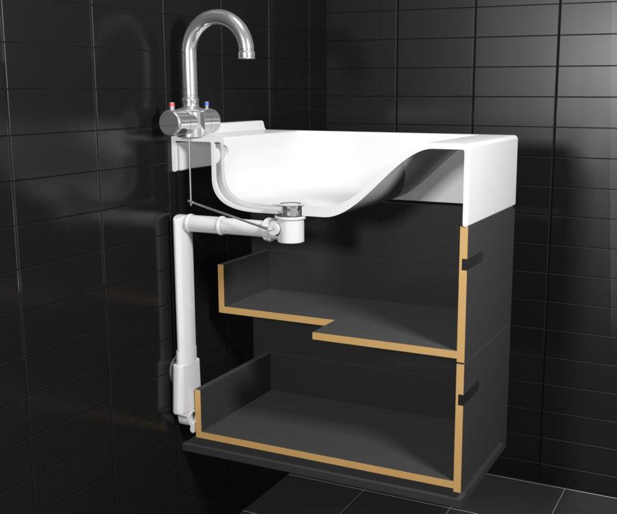 Sifon für waschbecken