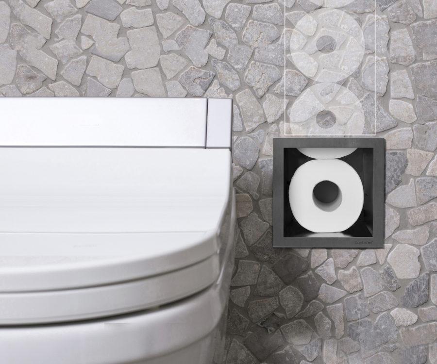 Toilettenpapierhalter Wand