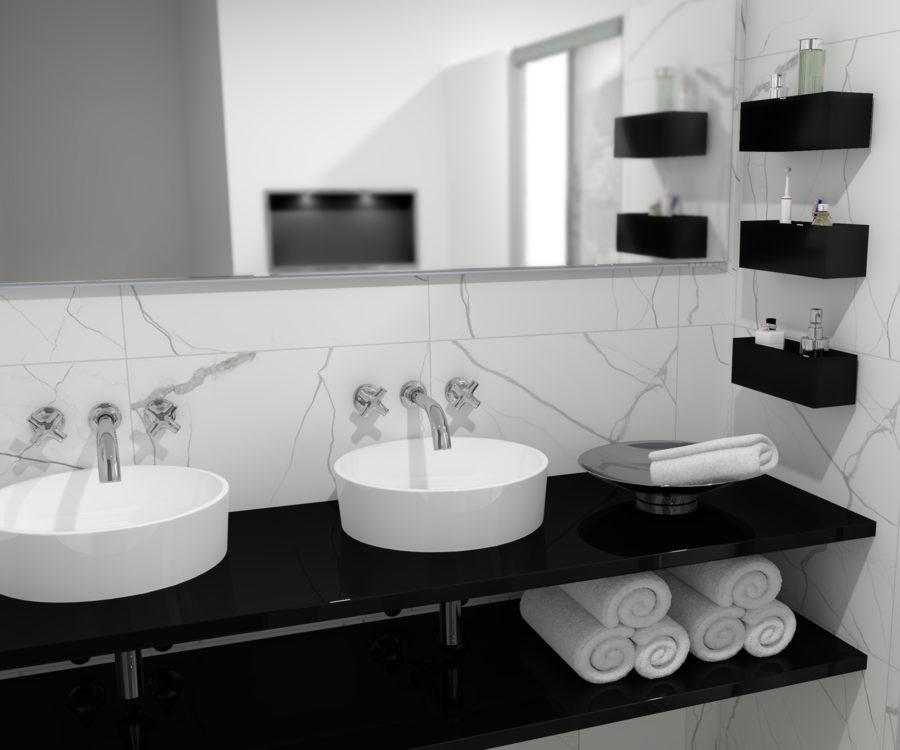 Wandregale Inspiration Badezimmer