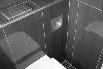 WC – Portarollos empotrado Square