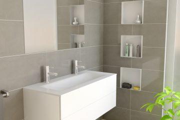 Desag es de ducha y soluciones de ba o que marcan - Hornacina bano ...