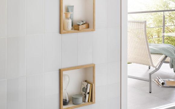 Cómo instalar una hornacina de pared en el baño (1)