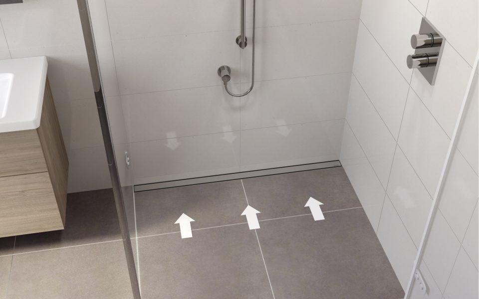 La doccia in LIBERTÀ