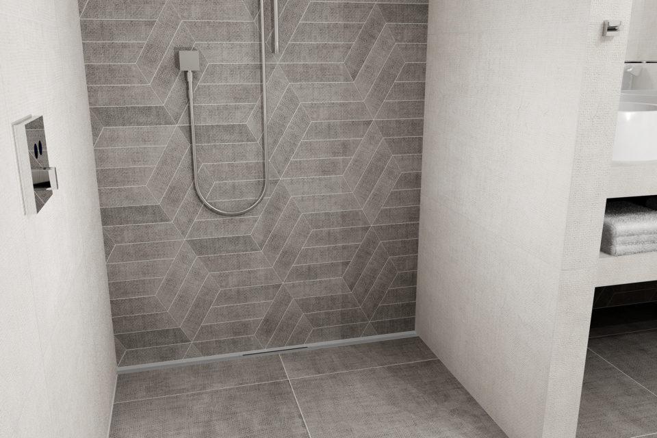 Suggerimenti per rendere un piccolo bagno più spazioso easy drain