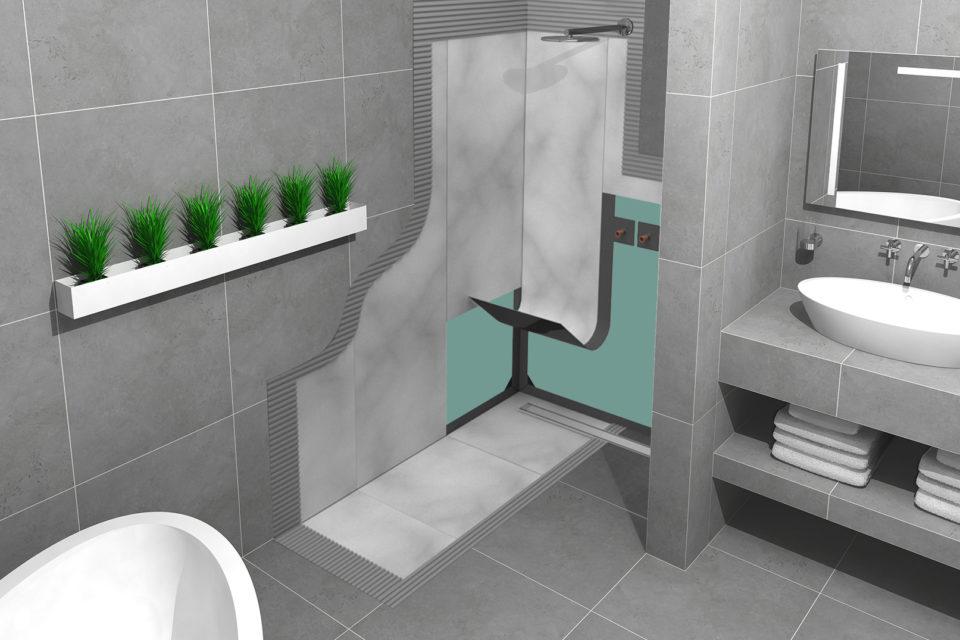 Come impermeabilizzare il tuo bagno in 10 passaggi easy drain