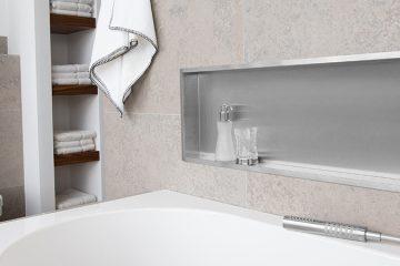Bruseafl b trends ttende baderumsl sninger easy drain ess - Construire niche salle de bain ...