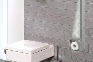 Toiletpapir magasin til opbevaring af 6 ruller