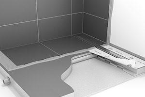 Tileable Shower Element