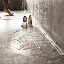 High performance shower drains – Increasing the drainage capacity